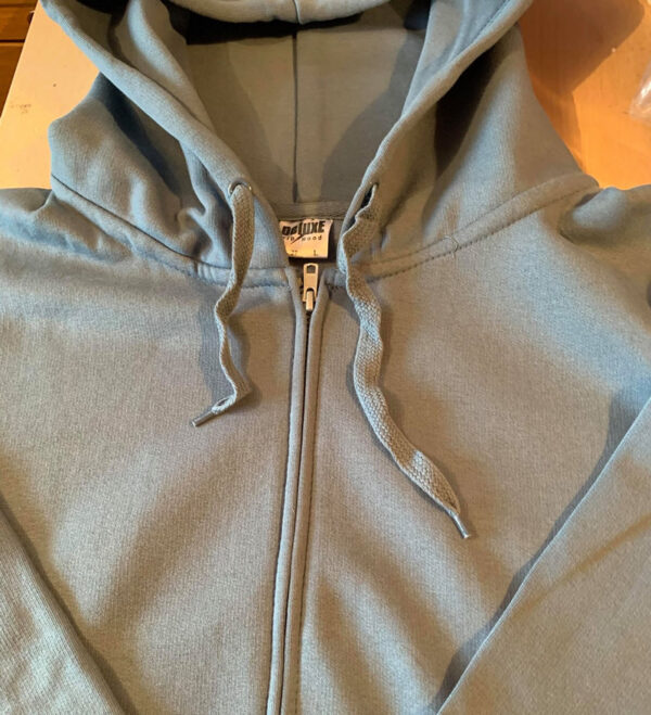 One Paw hoodie with zip