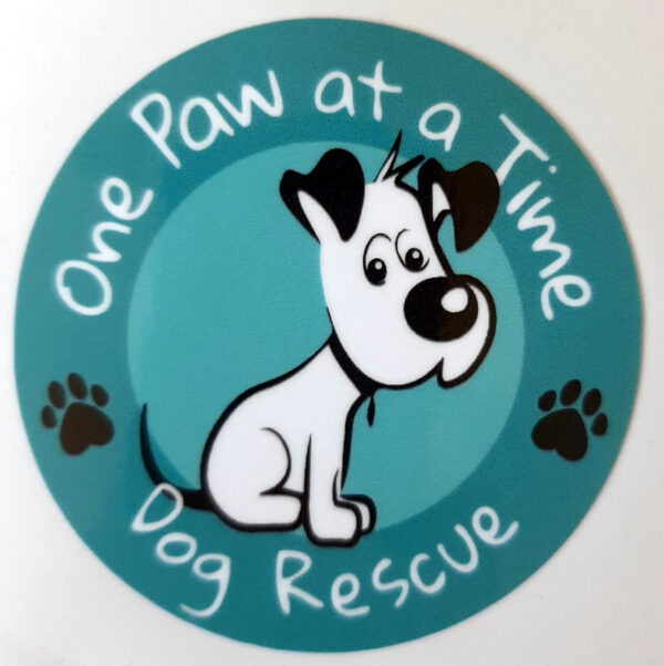 One Paw universal sticker showing logo